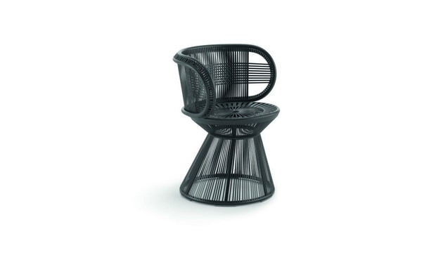Dedon - Cirql Armchair, Standfuß - onyx/carbon - 2