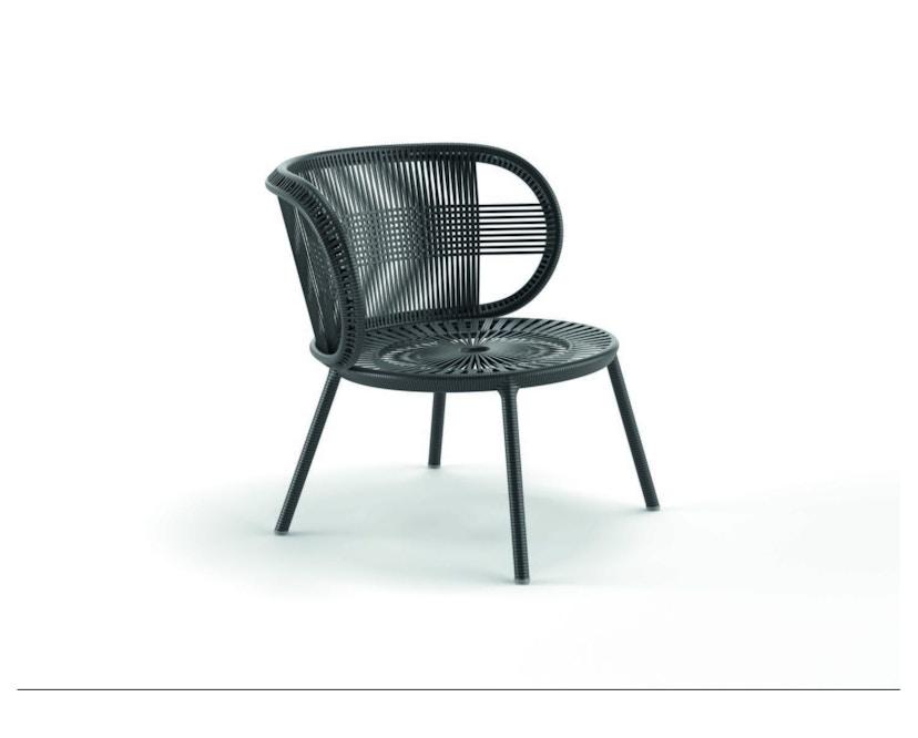 Dedon - Cirql Lounge Chair - onyx/carbon - 1