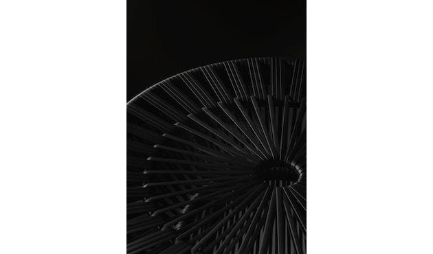 Dedon - Cirql Armchair, pied socle - sans coussin d'assise - onyx/carbon - 3