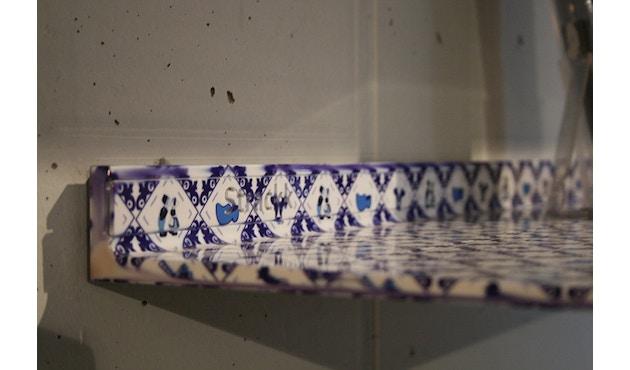 Strackk - Delft Blue Wandregal - blau/weiß - 50 cm - 5