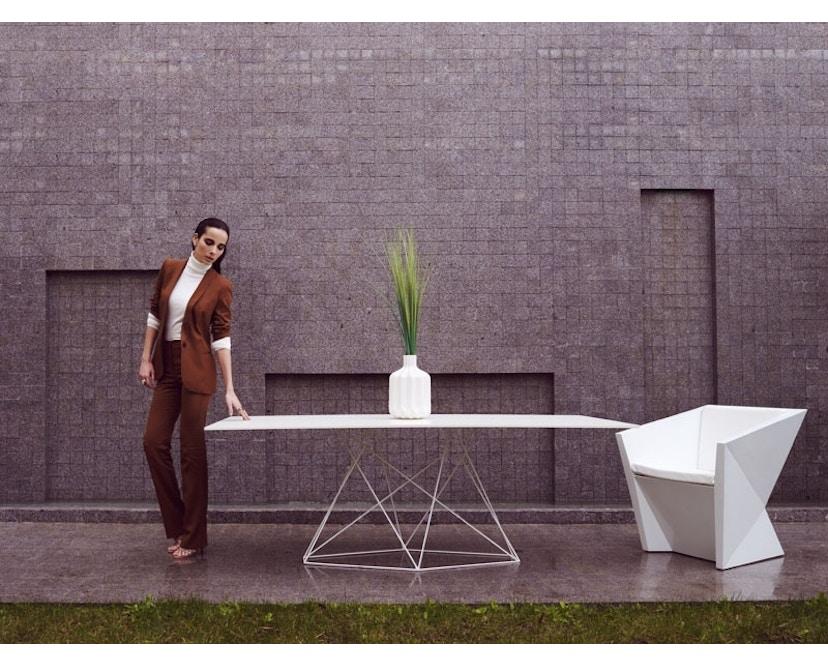 Vondom - FAZ Inox Tisch 90x90 - schwarz - 2