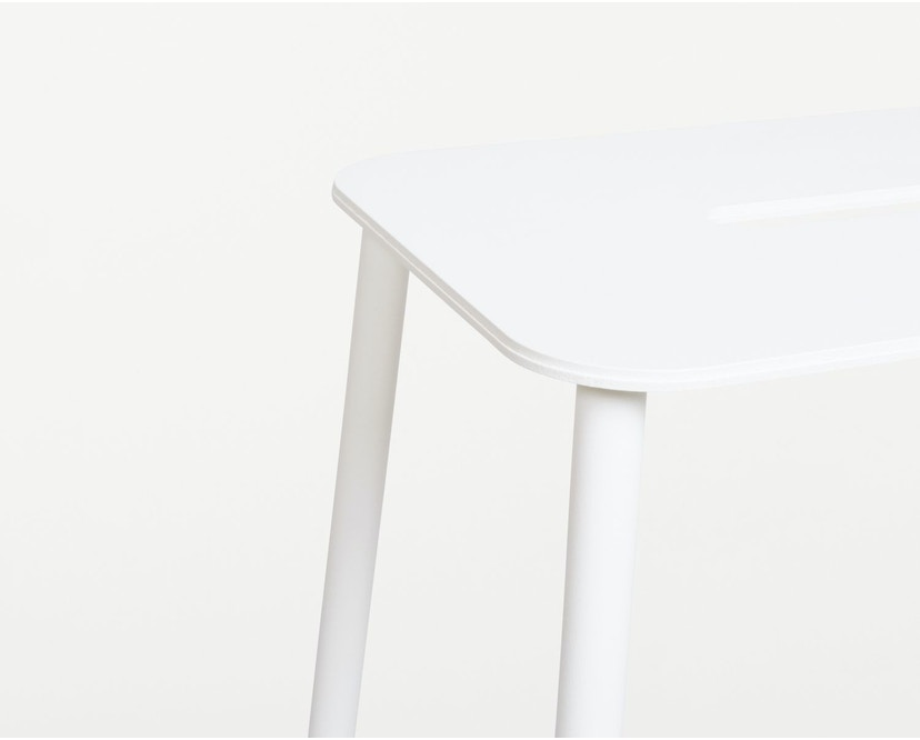 Frama - Adam Outdoor-Hocker - H50 - weiß