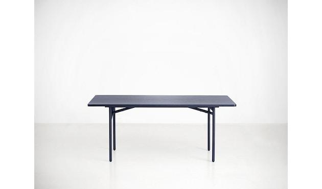 Woud - Diagonal Tisch - Midnight blue - 2