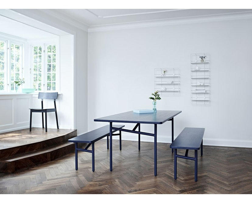 Woud - Diagonal Tisch - Midnight blue - 7