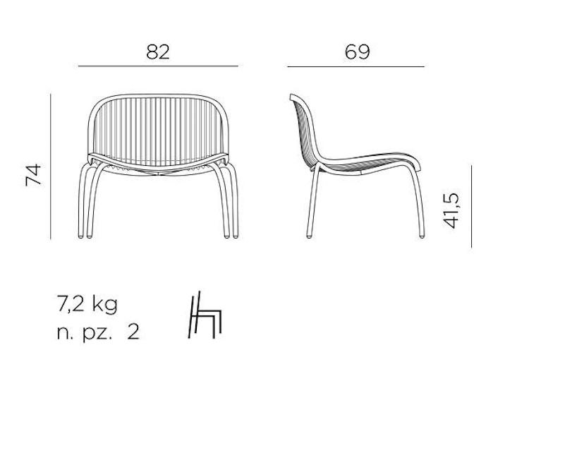 Nardi - Ninfea Relax Lounge Stuhl - 3