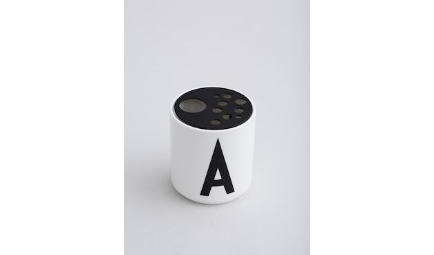 DESIGN LETTERS - Blumenhaltereinsatz für Personal Porzellanbecher - 2