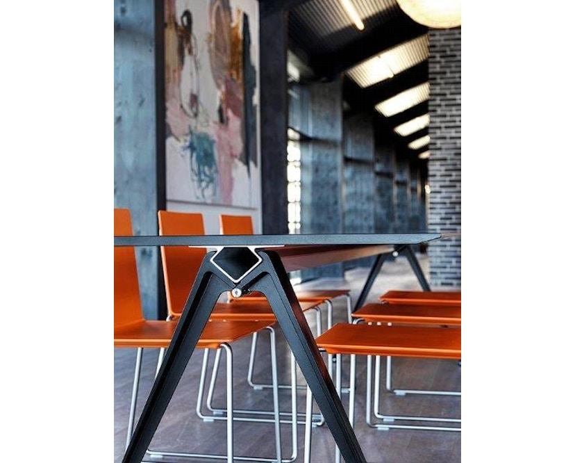 Randers + Radius - GRIP Basic Tisch - 179 x 80 cm - schwarz - 9