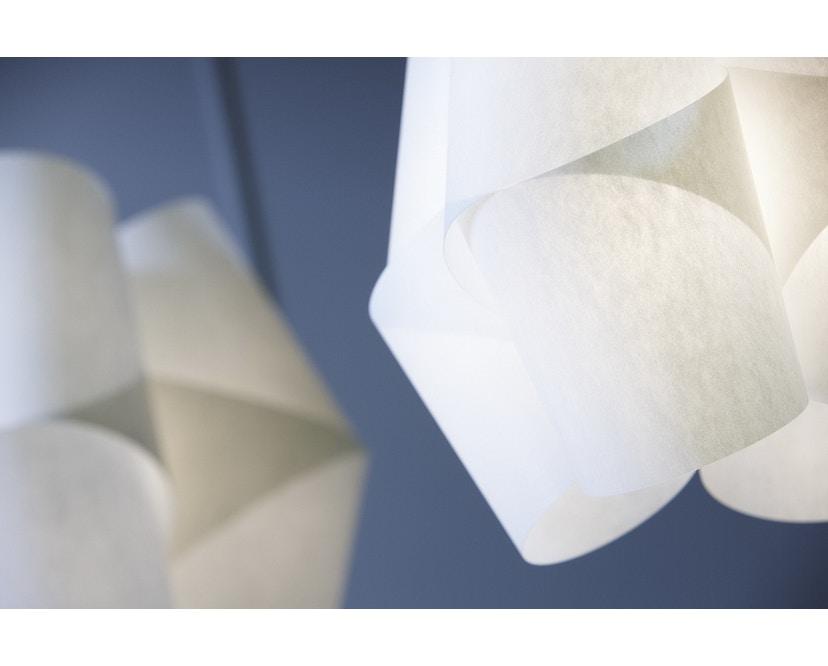 Domus - Julii Pendelleuchte - klein - Textilkabel anthrazit - 7