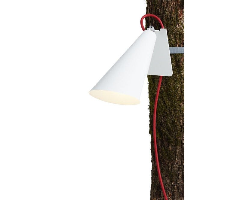 Domus - Pit Out riem-tuinlamp - wit - 1