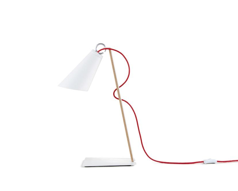 Domus - Pit tafellamp - blauw - wit - 1