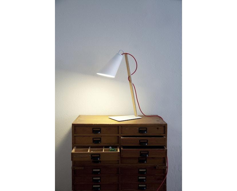 Domus - Pit tafellamp - blauw - wit - 3