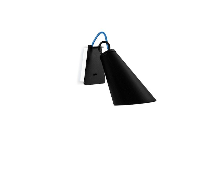 Domus - Pit wandlamp - zwart - rood - 3
