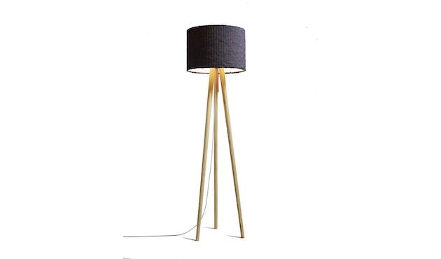 Domus - Sten Linum vloerlamp - grafiet - Walnoothout - 1