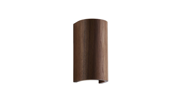 Domus - Tube wandlamp - walnoot - 1