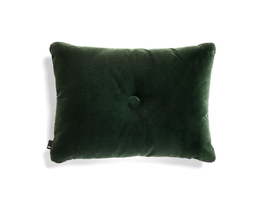 HAY - Dot Kissen Soft - dark green - 1