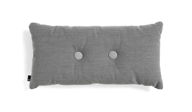 HAY - Dot Cushion 2x2 Kissen - Steelcut Trio - dark grey - 1