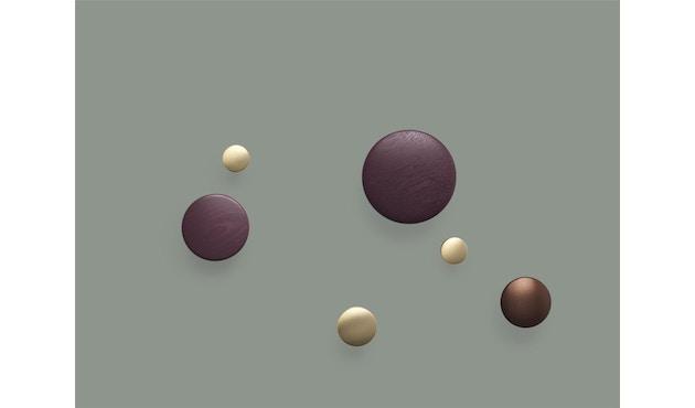 Muuto - The Dots Metall - umber - Set - 7