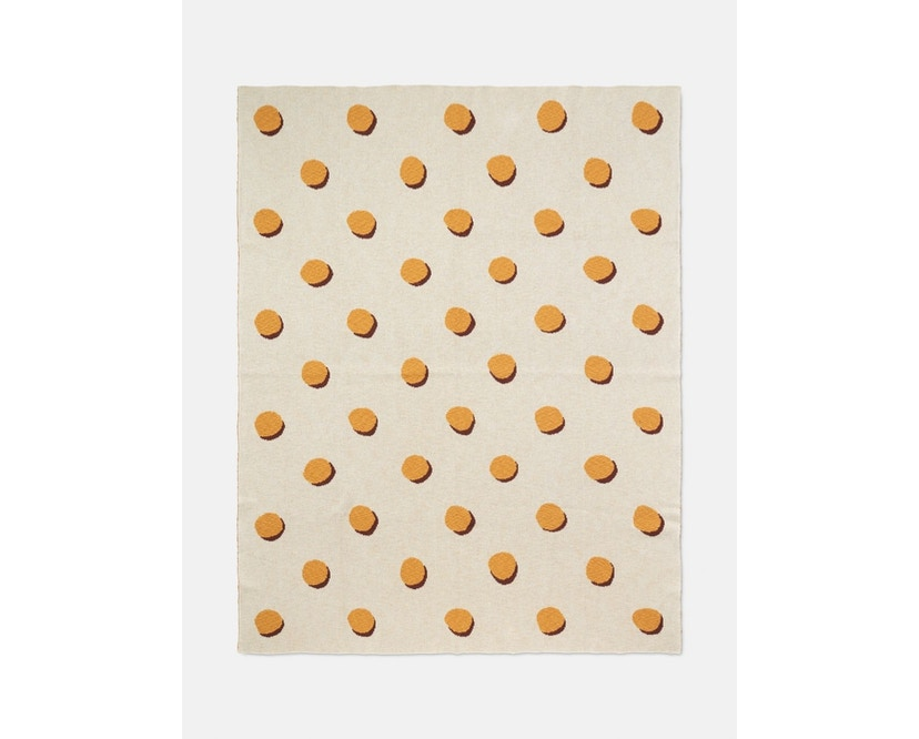 ferm LIVING - Double Dot Decke - beige - 1
