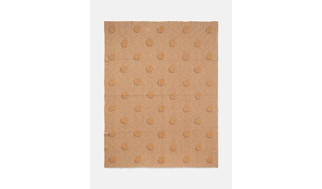 ferm LIVING - Double Dot Decke - beige - 2