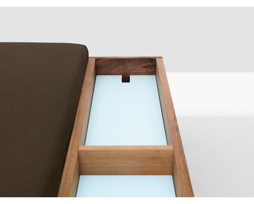 Zeitraum - Doze bed - 100 x 200 cm - Es - Canvas - grijs - 2