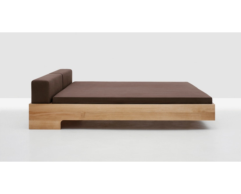 Zeitraum - Doze bed - 100 x 200 cm - Es - Canvas - grijs - 5