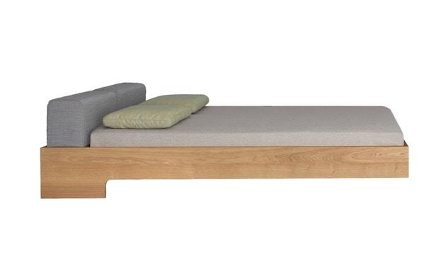 Zeitraum - Doze bed - 100 x 200 cm - Es - Canvas - grijs - 1