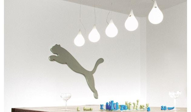 Next - Liquid Light Drop LED Kronleuchter xs fünf Leuchtkörper Langbaldachin - 3