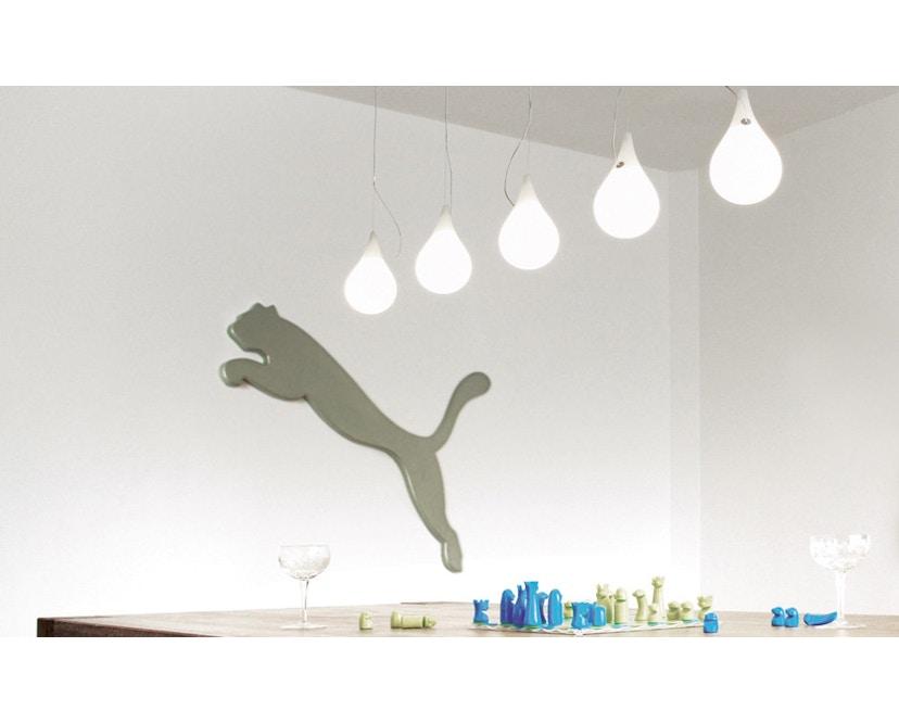 Next - Liquid Light Drop LED kroonluchter xs vijf lampen langbaldakijn - 3