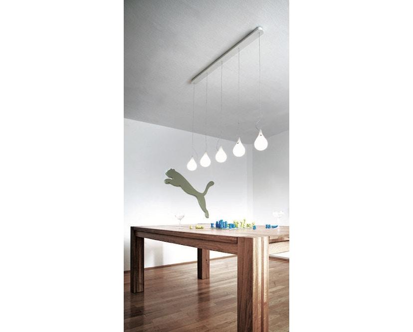 Next - Liquid Light Drop LED kroonluchter xs vijf lampen langbaldakijn - 2