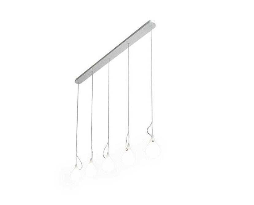 Next - Liquid Light Drop LED kroonluchter xs vijf lampen langbaldakijn - 1
