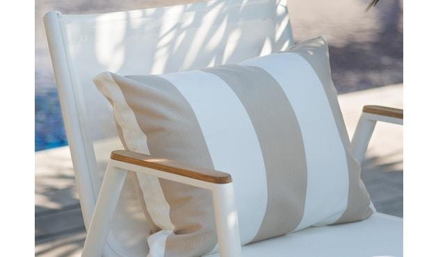 Vlaemynck - Pilotis Tiefer Sessel mit Armlehne - weiß - 4