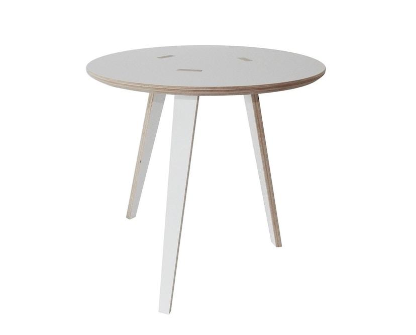 Tojo - Rund Tisch - weiß - 40 cm - 1