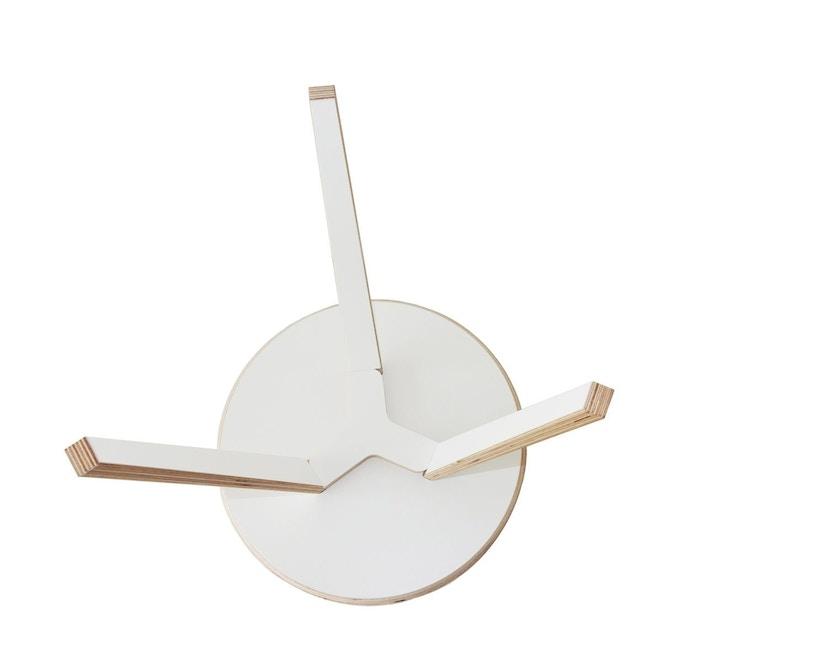 Tojo - Rund Tisch - weiß - 40 cm - 3