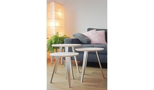 Tojo - Rund Tisch - weiß - 40 cm - 8