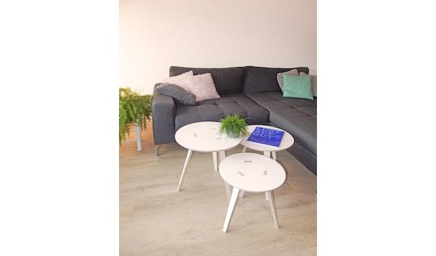 Tojo - Rund Tisch - weiß - 40 cm - 9