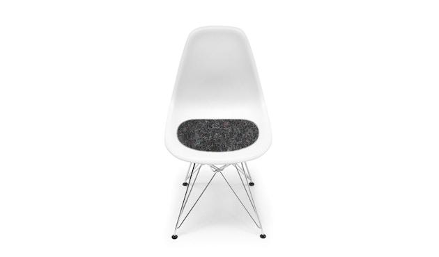 Hey-Sign - Sitzauflage Eames Plastic Sidechair - 08 graphit mit Antirutsch - 1