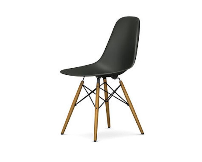 Vitra - DSW Eames Plastic Sidechair - basalt - Sitzhöhe 43 cm - 1