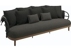 Gloster - Dune 3-Sitzer Sofa - 6