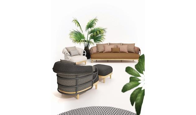 Gloster - Dune 3-Sitzer Sofa - 5