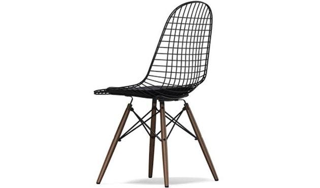 Vitra - Wire Chair DKW-5 - Ahorn dunkel - Hopsak 05 dunkelgrau - Sitzhöhe 43 cm - 1