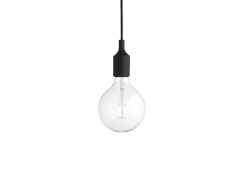 Muuto - Hängeleuchte E27 - LED - schwarz - 4