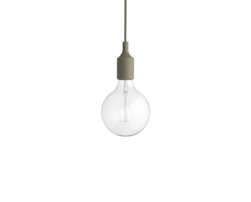 Muuto - Hängeleuchte E27 - LED - olivegrün - 5