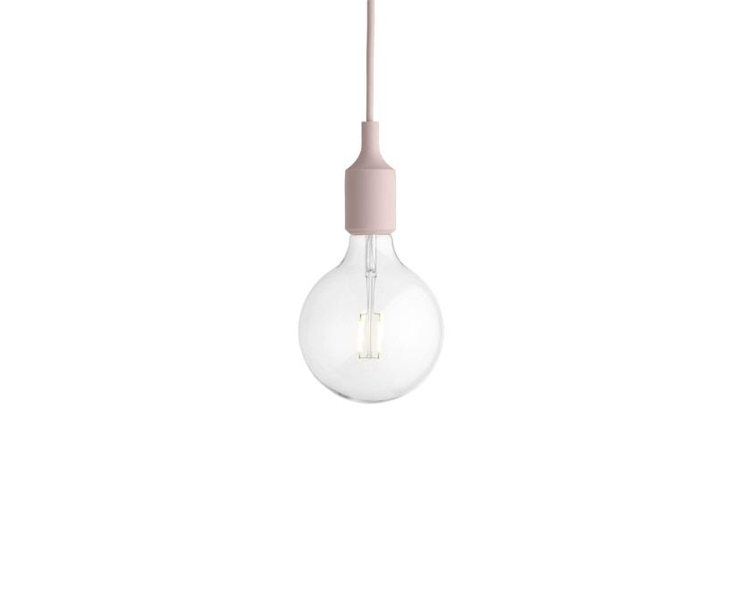 Muuto - Hängeleuchte E27 - LED - rose - 4