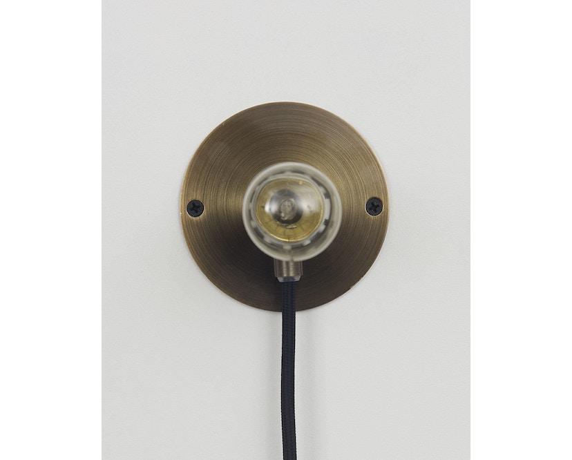 Frama - E27 Wandleuchte - bronze - Ø 10 cm - 2