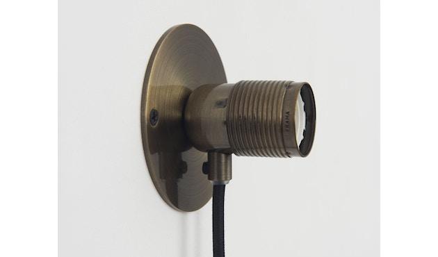 Frama - E27 Wandleuchte - bronze - Ø 10 cm - 3