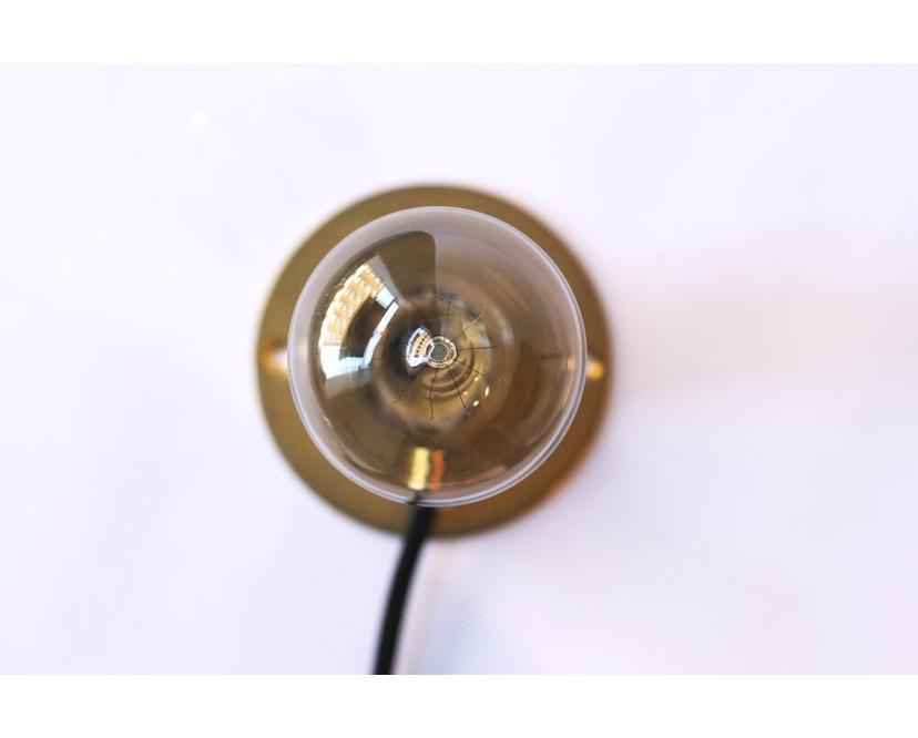 Frama - E27 Wandleuchte - bronze - Ø 10 cm - 4