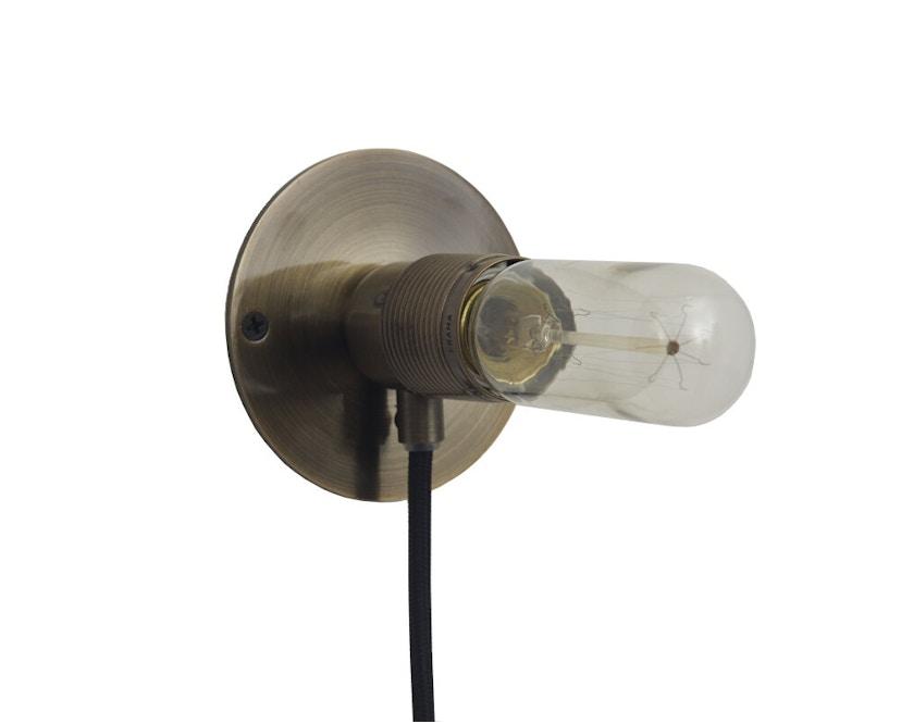 Frama - E27 Wandleuchte - bronze - Ø 10 cm - 1