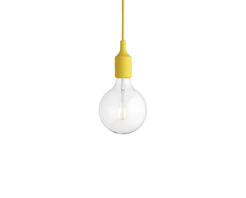 Muuto - Suspension E 27 LED - jaune - 4