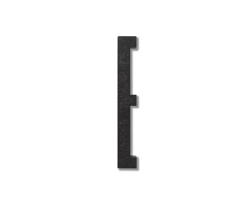 DESIGN LETTERS - Hölzerne Buchstaben - schwarz - E - 1