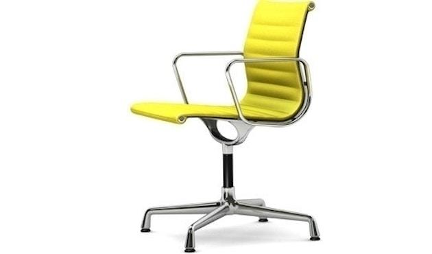 Vitra - Aluminium Chair - EA 103 - Hopsak -jaune/vert tilleul - poli - patin pour sols durs - 1